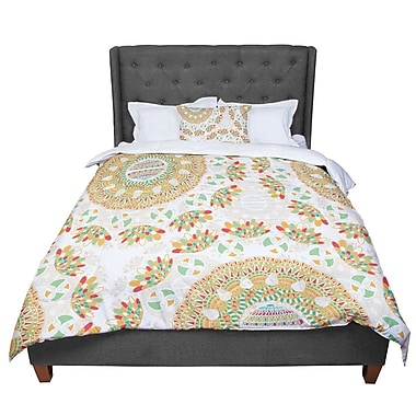 East Urban Home Miranda Mol Bohemian Bright Geometric Comforter; Twin