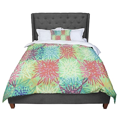 East Urban Home Laura Nicholson Multi Lacy Comforter; Twin