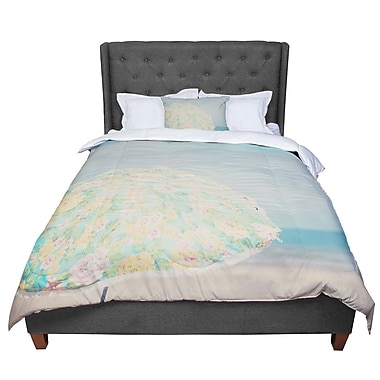 East Urban Home Laura Evans a Summer Afternoon Comforter; Twin