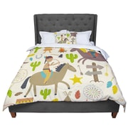 East Urban Home Petit Griffin Tipi Kids Comforter; King by