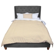 East Urban Home Petit Griffin Chevron Comforter; King by