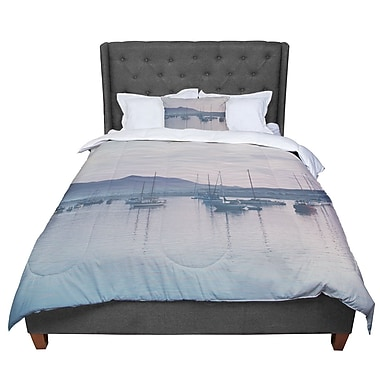 East Urban Home Laura Evans as the Sun Goes Down Comforter; Twin