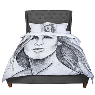 East Urban Home Maria Bazarova Fashion Woman People Comforter; Queen