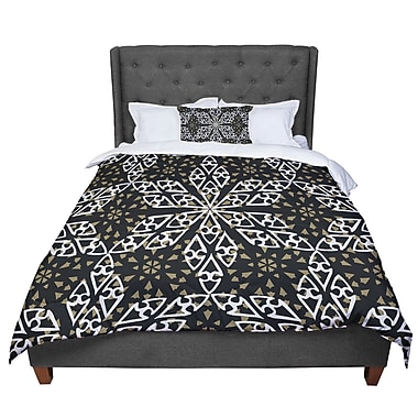 East Urban Home Miranda Mol Ethnical Snowflakes Comforter; King