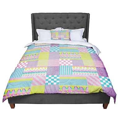 East Urban Home Louise Machado Patchwork Comforter; King