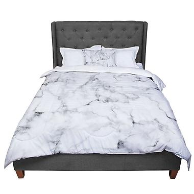 East Urban Home Marble Comforter; King