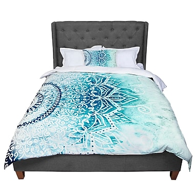 East Urban Home Nika Martinez Mina Mandala Geometric Comforter; King