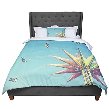 East Urban Home Libertad Leal Flying Chairs Comforter; King