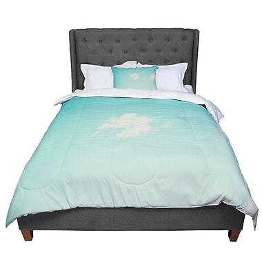 East Urban Home Libertad Leal Cloud 9 Sky Comforter; King