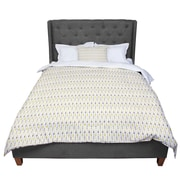 East Urban Home Petit Griffin Golden Arrows Comforter; King by
