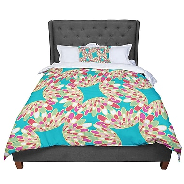 East Urban Home Miranda Mol Wings Comforter; Queen