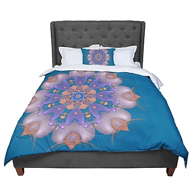 East Urban Home Michael Sussna Whisker Lily Comforter; Twin