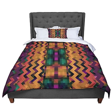 East Urban Home Nina May Harvesta Comforter; Queen