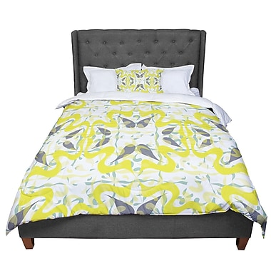 East Urban Home Miranda Mol Azulejos Comforter; Twin
