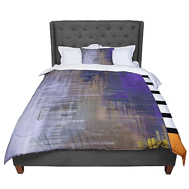 East Urban Home Michael Sussna Reach For The Sky Comforter; King