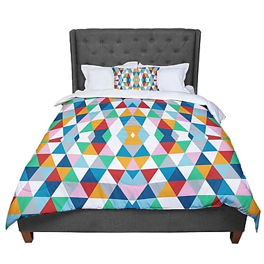 East Urban Home Project M Geometric Comforter; Queen