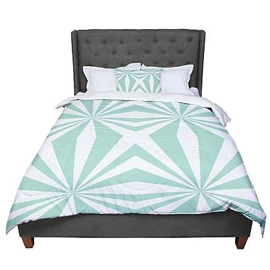 East Urban Home Project M Starburst Comforter; Queen