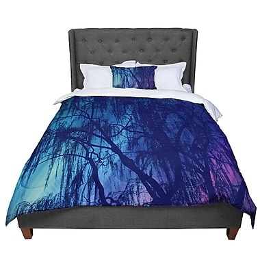 East Urban Home Robin Dickinson Weeping Tree Comforter; King