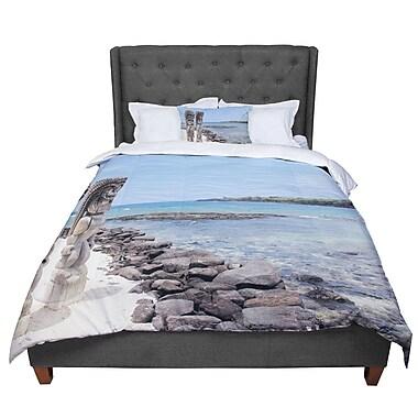 East Urban Home Nastasia Cook City of Refuge Coastal Comforter; Queen