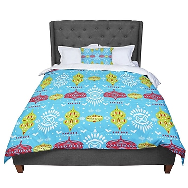 East Urban Home Miranda Mol Deco Row Comforter; King