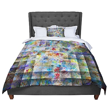 East Urban Home Michael Sussna Yggdrasil Abstract Comforter; King