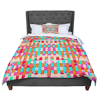 East Urban Home Nina May Sorbetta Comforter; Queen