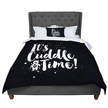 East Urban Home Nick Atkinson Cuddle Time Comforter; Queen