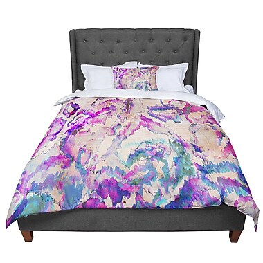 East Urban Home Nikki Strange Weirdi Kat Comforter; Queen