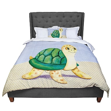 East Urban Home Padgett Mason Slow and Steady Comforter; Queen