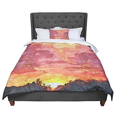 East Urban Home Oriana Cordero Horizon Sky Comforter; Twin