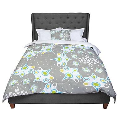 East Urban Home Miranda Mol Ornamental Splash Comforter; King
