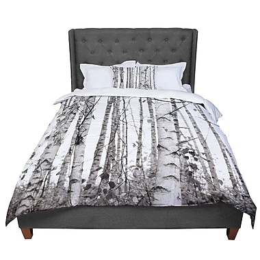 East Urban Home Monika Strigel Birchwood Forest Comforter; King