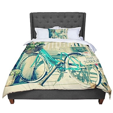 East Urban Home Robin Dickinson Just Married Comforter; Queen