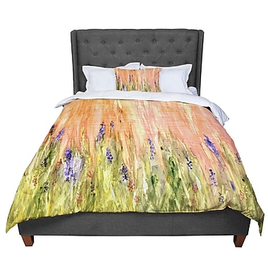 East Urban Home Rosie Welcome Spring Comforter; Twin