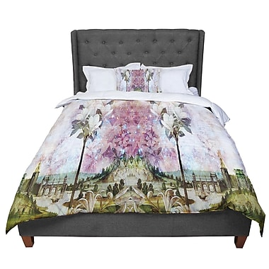 East Urban Home Suzanne Carter the Magnolia Trees Comforter; Queen
