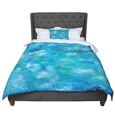East Urban Home Rosie Ocean Waters Comforter; Twin