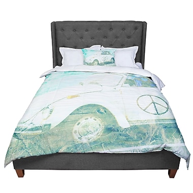 East Urban Home Robin Dickinson Love Bug Comforter; King