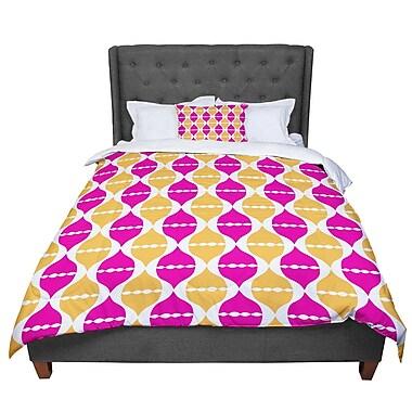 East Urban Home Apple Kaur Designs Moroccan Dreams Comforter; Queen