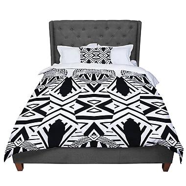 East Urban Home Pom Graphic Design Africa Comforter; King