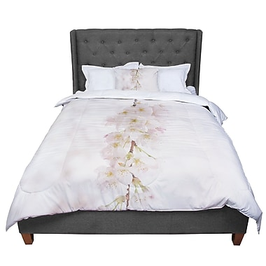East Urban Home Robin Dickinson It's That Time Floral Photography Comforter; King