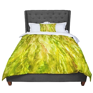 East Urban Home Rosie Tropical Delight Comforter; King