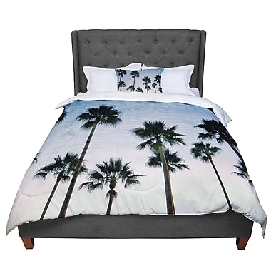 East Urban Home Richard Casillas Paradise Palms Comforter; King
