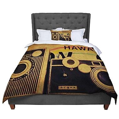 East Urban Home Robin Dickinson Ingredients Vintage Comforter; Queen