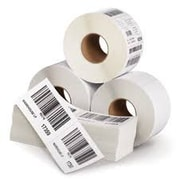Proscan Media Products Direct Thermal White Label, Permanent Adhesive