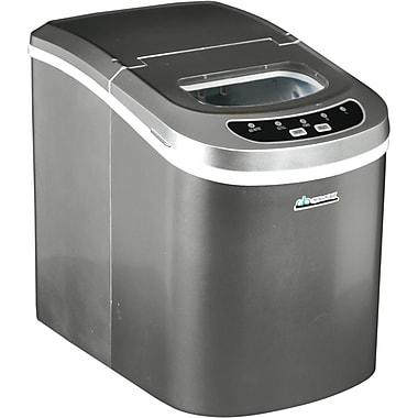 Avalon Bay – Machine à glaçons portative, 26 lb, argenté/gris (AB-ICE26S)