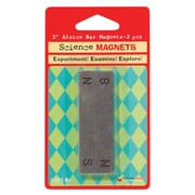 "Dowling Magnets 731011 3"" Alnico Bar Magnet, Black, 4/Pack (DO-731011)"