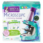 Educational Insights® Nancy B's Science Club Microscope And Activity Journal, Grades 2-7
