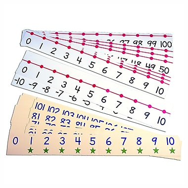 Carson Dellosa Ideal School Supply Classroom Number Line, 42/Pack (ID-7805)