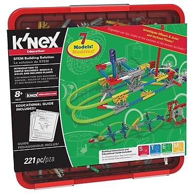 K'NEX® Intro To Simple Machines: Wheels, Axles & Inclinedplanes Activity Kit, Grades 3 - 5