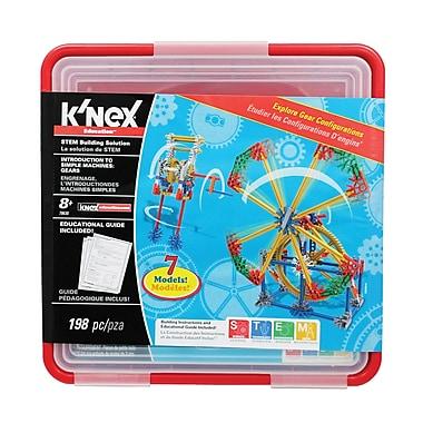 K'nex - Trousse d'activités Intro To Simple Machines: Gears , 3e à 5e années